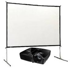 Projector & Fast fold Screen Set