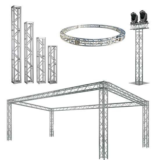 Custom Truss for hire at 10B's Connection House