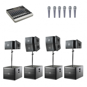 JBL Large System Hire 10B's Connection House