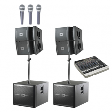 JBL Medium System Hire 10B's Connection House VRX system