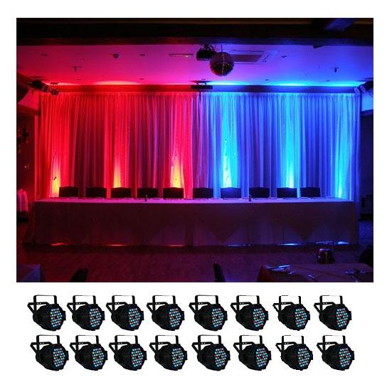 LED Parcan Hire 16