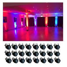 Simple 24 LED parcan hire johannesburg