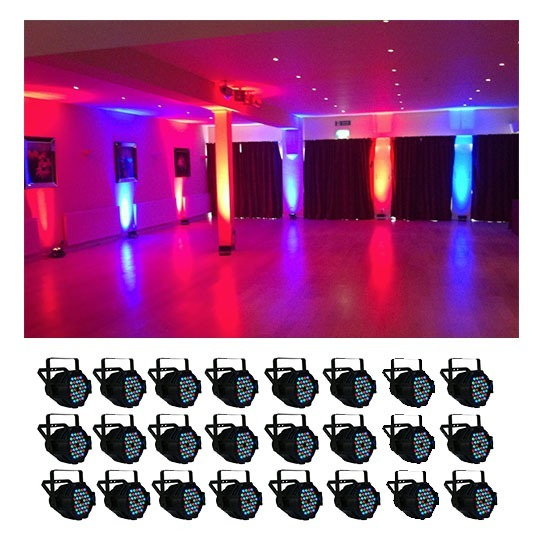 Simple LED Parcan Hire – 24