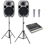 Sound Hire - Small Sound System 15inch 2 x tops