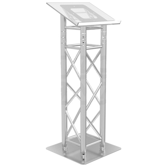Truss lectern/Podium by 10B's Connection House