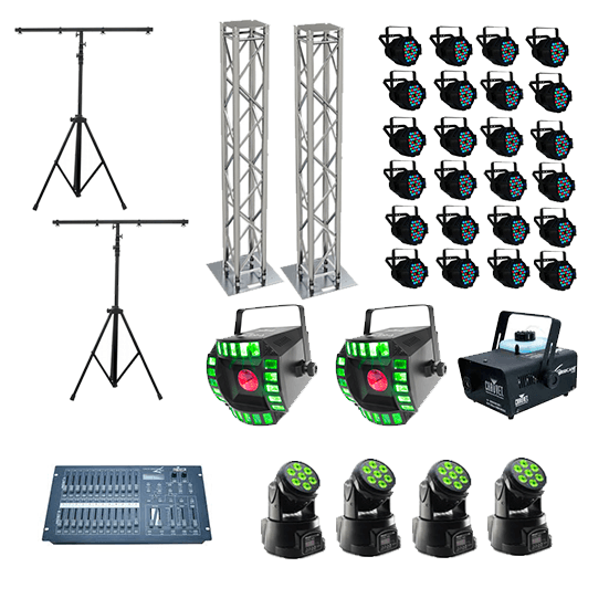 Moving Groovy Full House with Truss Totems Hire