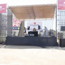 Roof Stage setup in Johannesburg for hire by 10B's Connection House