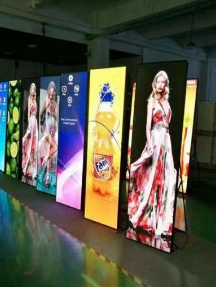 LED Poster Banner Display