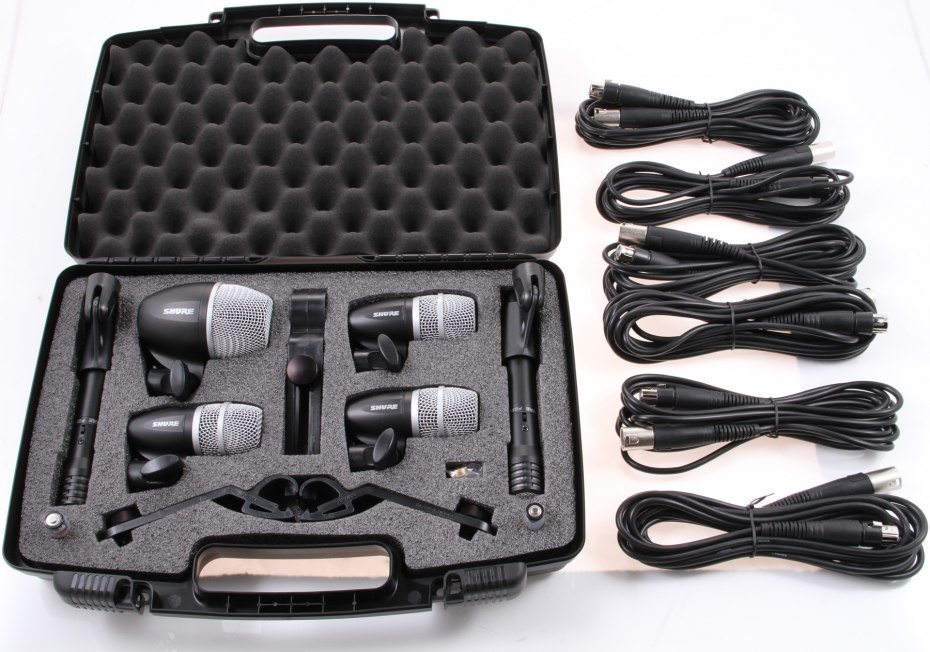 Shure 6 piece drum mic for hire