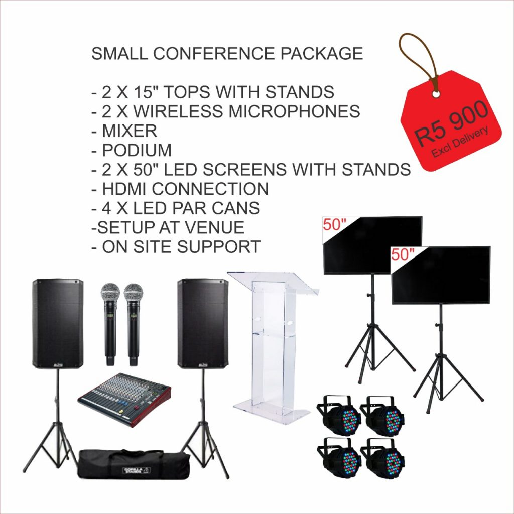 Small Conference AV Package Hire
