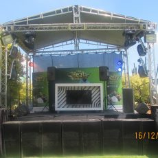 Roof Stage Hire