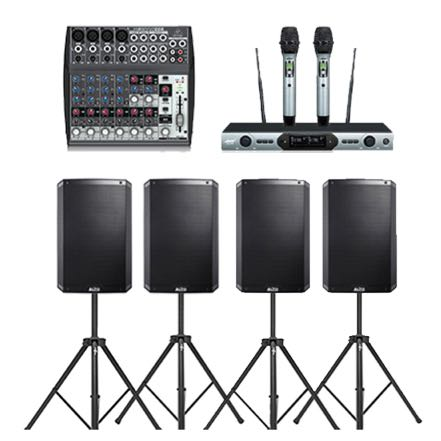 Extra Large No Subs – Sound Hire