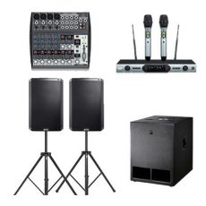 Sound Hire: Alto 15inch 1 Subs 2 Tops Wireless