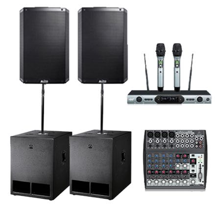Large Sound Hire