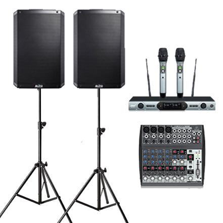 Small Sound Hire - Alto 15inch set wireless