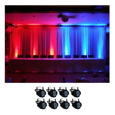 Uplighting Simple 8 LED lights