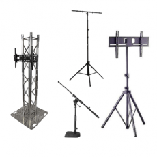 Stands: Lighting, Sound & TV Stands