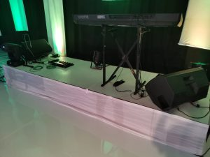White Stage hire 5